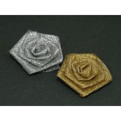 Rm-07 różyczki lureksowe 5cm