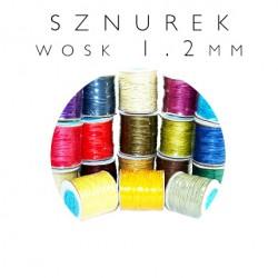 Sznurek woskowany jubilerski TSW-1.2
