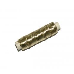 Nici metalizowane titano złote 10szt.
