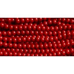 Korale krakowskie czerwone TP-8mm