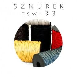 Sznurek woskowany 3mm TSW-33