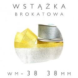 WM-38 Wstążka brokatowa metalizowana 38mm