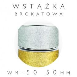 WM-50 Wstążka brokatowa metalizowana 50mm