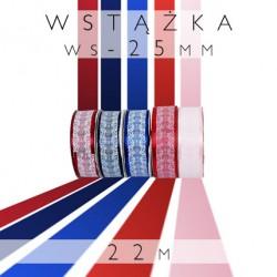 Wielkanocne wstążki z nadrukiem koronka WS-25